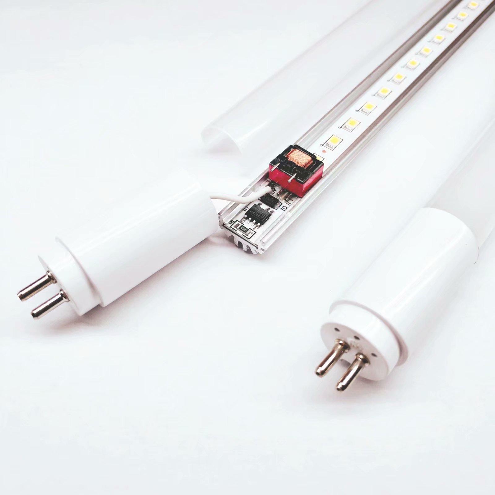 厂家直销 t5 led灯管 内置电源灯管 T5分体宽压无频闪t5灯管