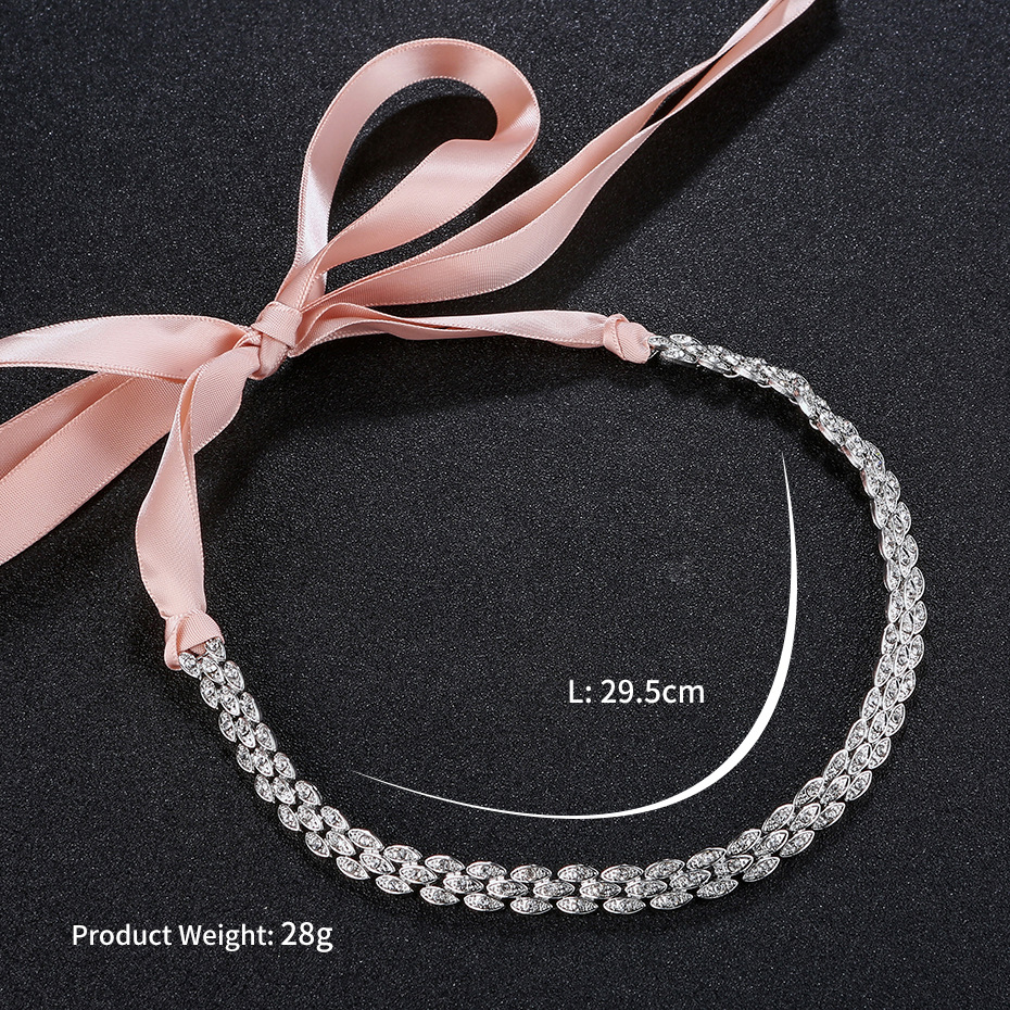 Alloy Simple Geometric Hair accessories  (Alloy) NHHS0206-Alloy