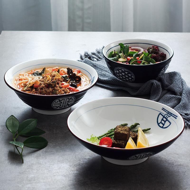 日式和风陶瓷面碗拉面碗汤碗大面碗牛肉碗泡面碗餐具家用面馆专用