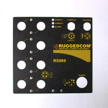 定做PVC硬質銘牌塑料標貼 磨砂光面不干膠薄膜面板塑料標貼貼紙
