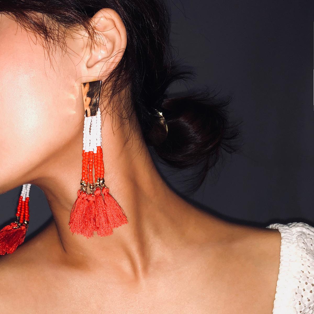 Alloy Fashion Tassel earring  Alloy 1184 NHXR2461Alloy1184