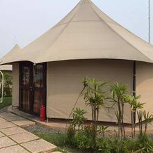承接酒店式露營帳篷 戶外野營天幕篷房酒店 農莊餐廳住宿帳篷