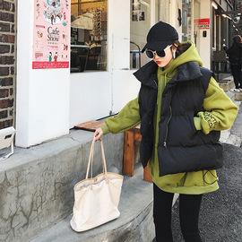Real shot 200 kg plus fertilizer XL women's fat mm new winter clothing large size cotton clothes fat MM loose vest