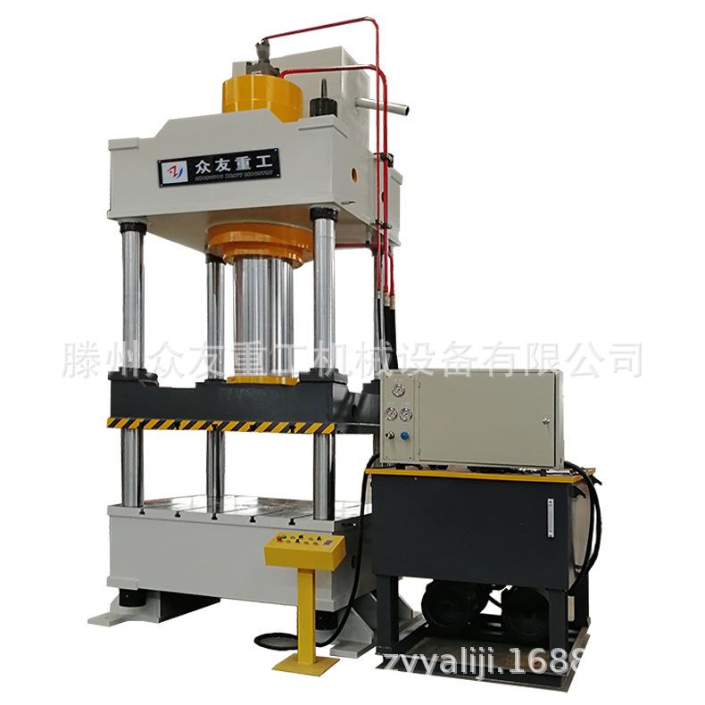 500T常规三梁四柱液压机