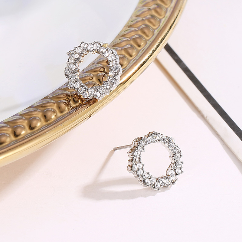 Clavicle Chain Ocean Circle Necklace Korean Ornaments wholesales yiwu suppliers china NHDP203057