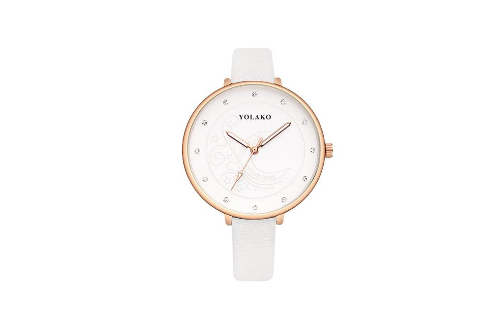 Alloy Fashion  Ladies watch  (white) NHSY1434-white