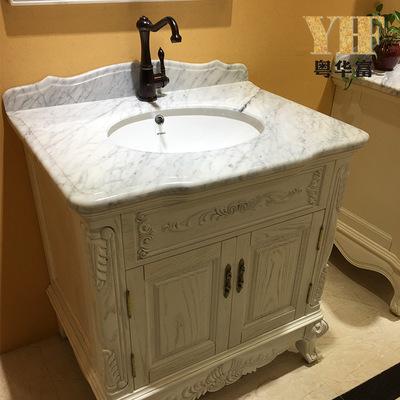 廠家直銷浴室洗手臺大理石衛生間洗臉洗手盆大理石洗手臺定制定制