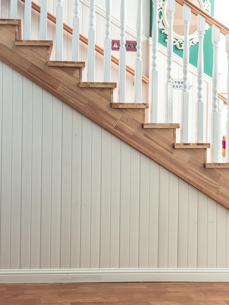 生态木护墙板墙裙客厅快装桑拿板背景墙绿可木阳台吊顶装饰材料