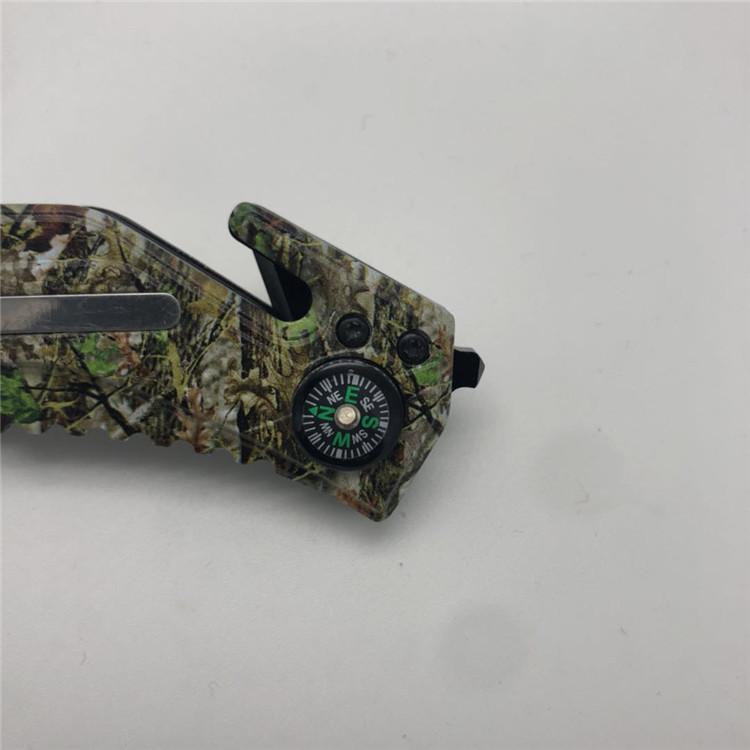 Couteau de survie en Acier inoxydable - Ref 3397216 Image 5