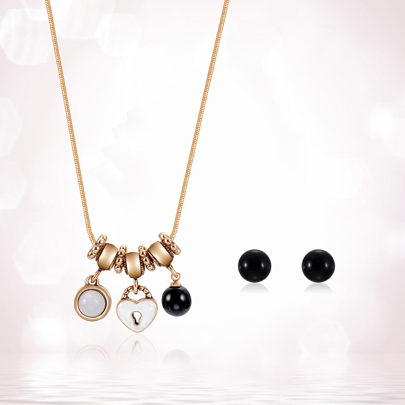 Alloy Korea  necklace  (61172427 alloy) NHXS1712-61172427-alloy