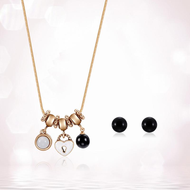 Alloy Korea  necklace  61172427 alloy NHXS171261172427alloy