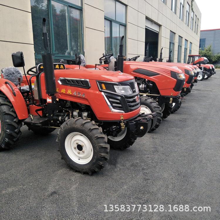 果树大棚除草拖拉机 504拖拉机高配置中型耕田机