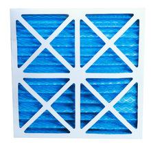 纸框折叠式初效过滤器空调进风口]G4过滤器纸框铝框初效过滤器