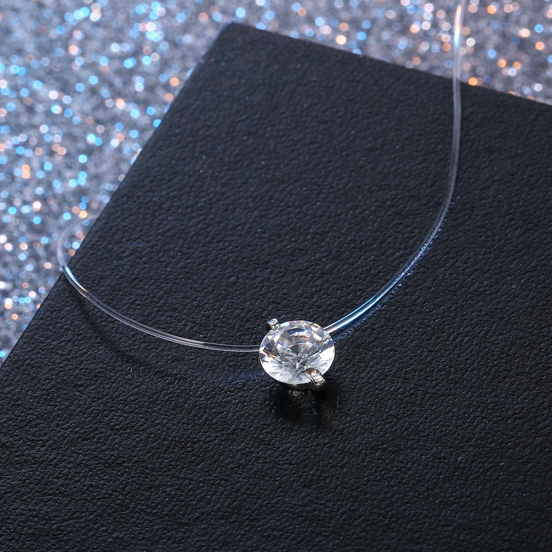 Fashionable women rhinestone necklace NHGO131061