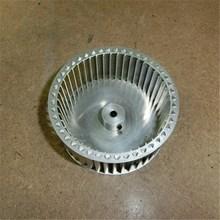 廠家供應高強度離心式插片鋁制風輪葉輪風葉機械鉚接整體鉚接