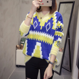 Good quality, real autumn and winter clothes, new fattening, fat, fat mm women's sweater, medium and long sweater, fashion, style, style.