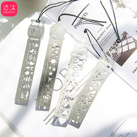 0006 hollow 4 classic metal ruler bookmark creative student gift antique gift retro stationery steel ruler