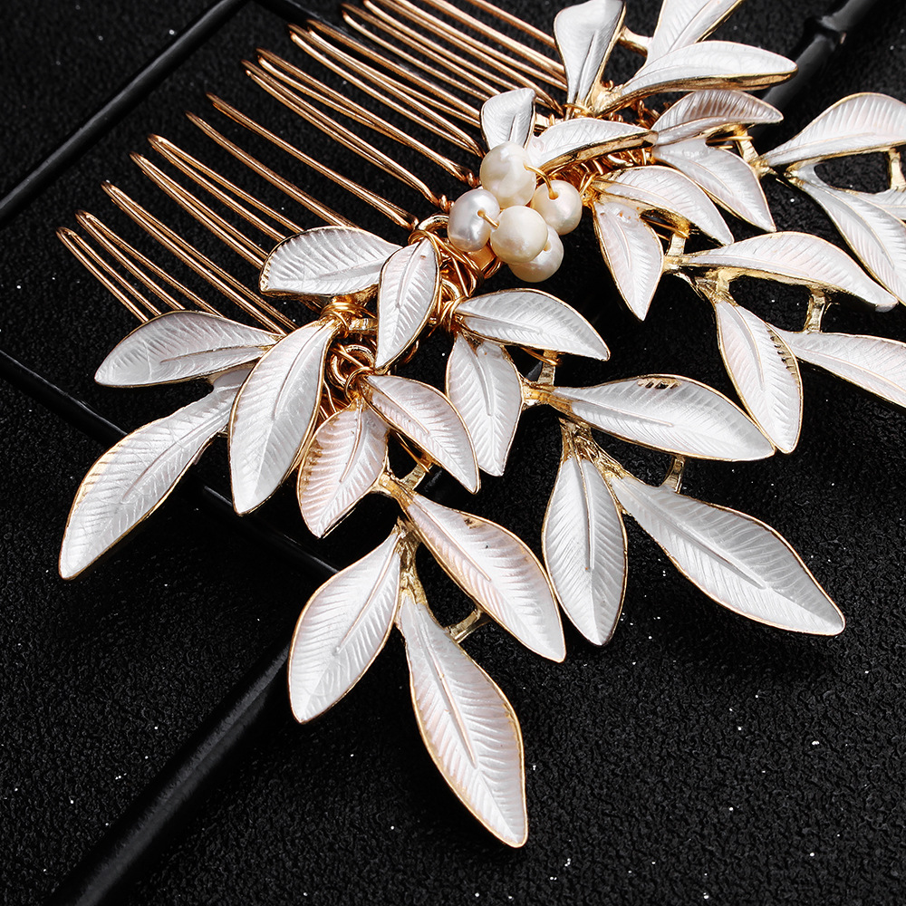Beads Simple Geometric Hair accessories  Alloy NHHS0624Alloy