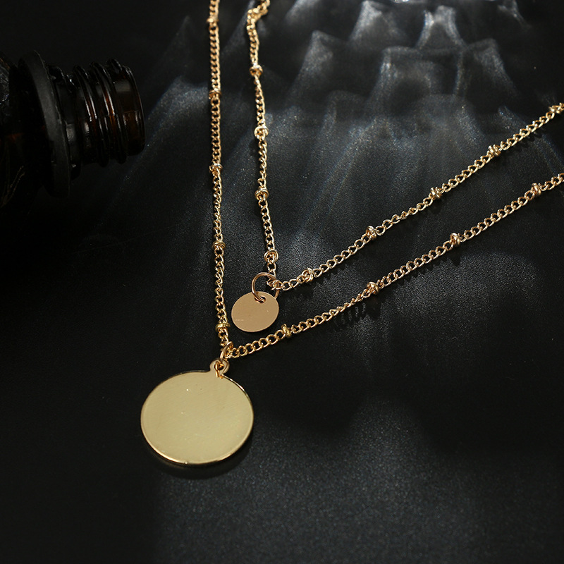 Alloy Simple Geometric necklace  Alloy NHGY2561Alloy