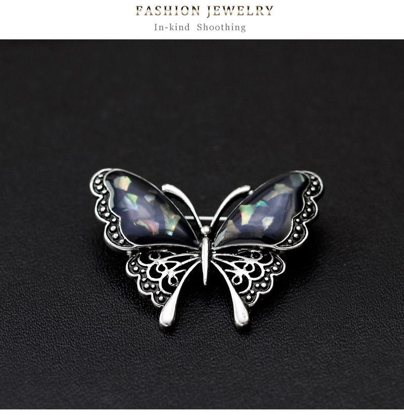 Alloy Vintage Animal brooch(AG129-A) NHDR2465-AG129-A