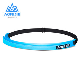 Leading sweat belt with long-distance running multi-function wicking belt antiperspirant men and women sports basketball riding silicone running equipment