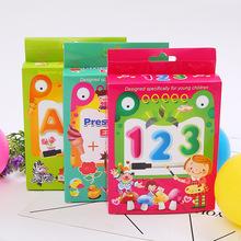 兒童益智玩具英文識字卡片 英語字母單詞學習卡片定制早教幼兒卡