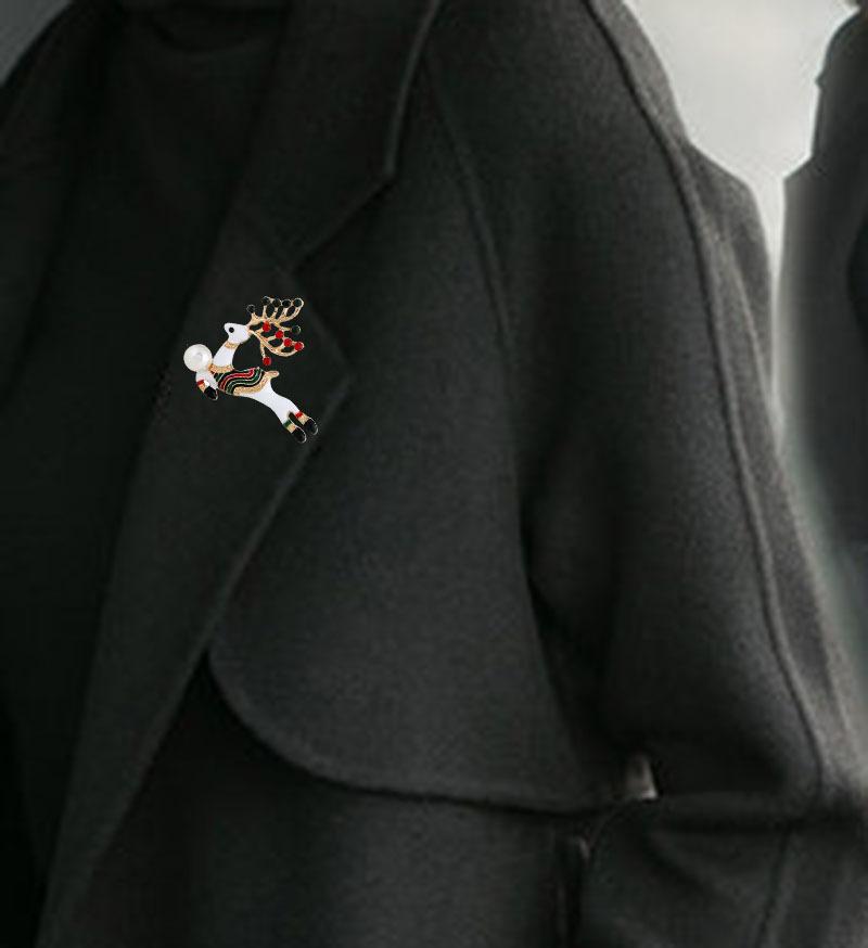 Alloy Fashion Animal brooch  (KC alloy color) NHKQ2068-KC-alloy-color