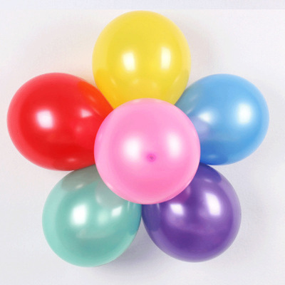 结婚婚房装饰乳胶气球 加厚1.8g 2.2g珠光圆形气球厂家直销