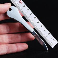 不锈钢钥匙刀 户外便携式多功能折叠迷你小刀 求生用品EDC工具