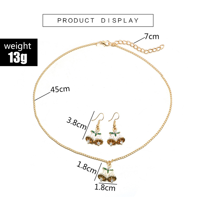 Alloy Simple Geometric necklace(Gold) NHGY2564-Gold