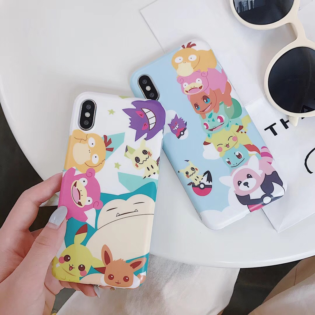 Net red new cute pet elf Pikachu mobile phone shell i7/i6 6plus Pikachu shatter-resistant shell cover