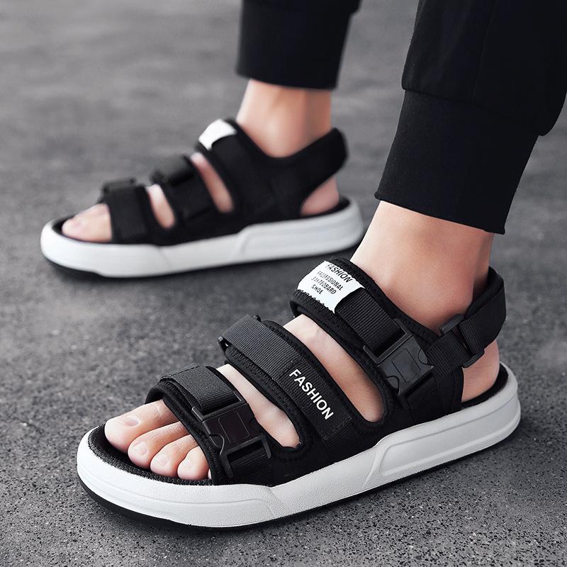 ស្បែកជើងបុរស Men Casual Sandals Outdoor Tide Drag Shoes PZ410039