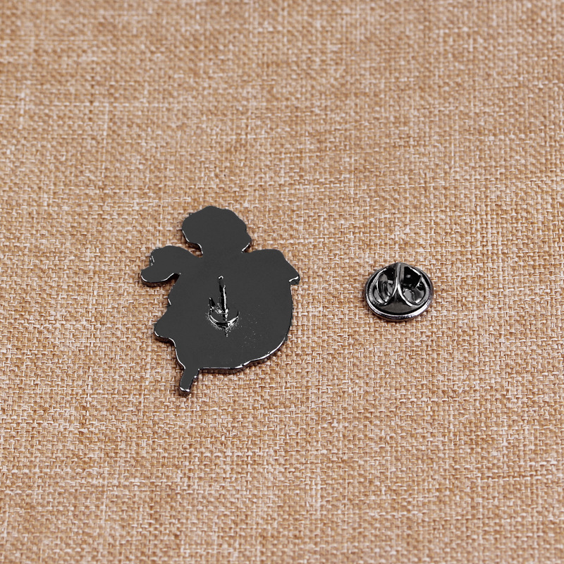 explosion models brooch jewelry creative Halloween skull and crossbones rose clothing accessories  brooch wholesale nihaojewelry NHMO220263