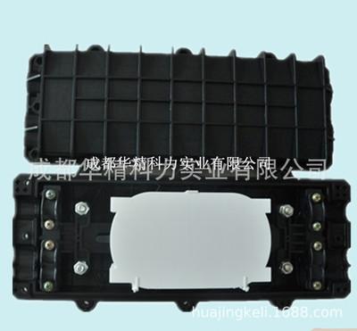 *厂家供应三进三出卧式光缆接头盒 最大96芯