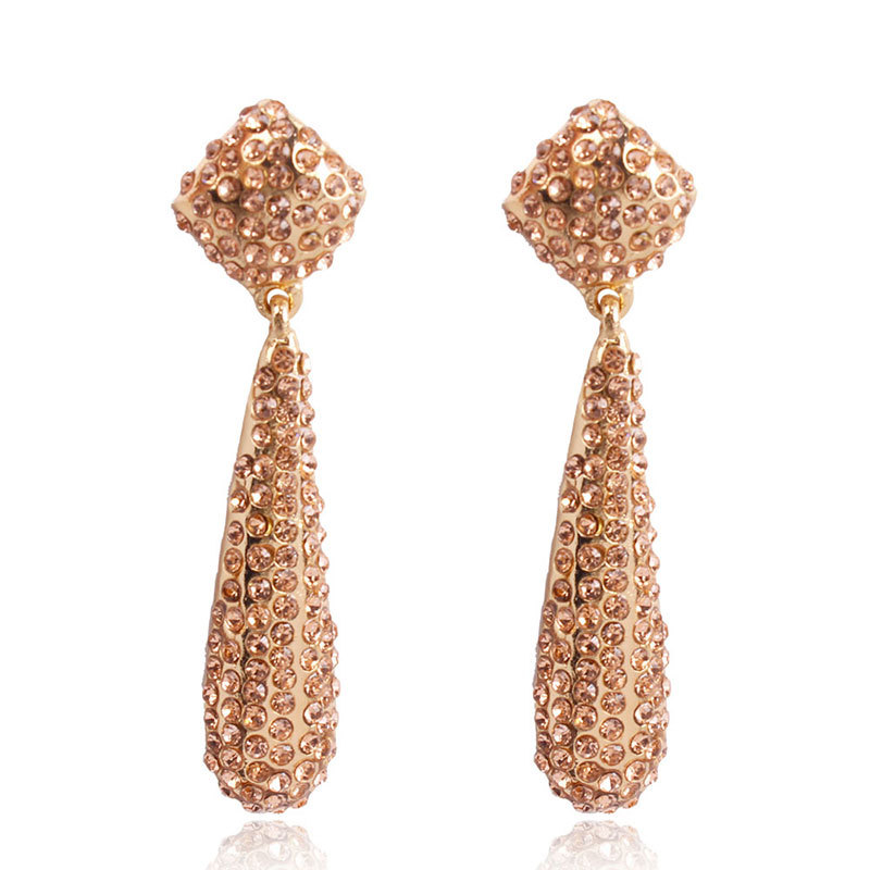 Alloy Fashion Geometric earring(red) NHMD4781-red