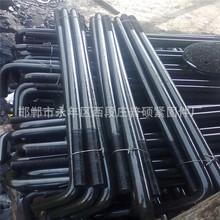 厂家定做地脚螺栓 U型预埋螺丝 光伏电力 钢结构热镀锌双头直拉条