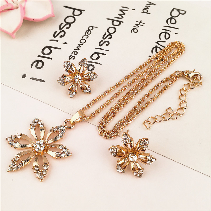 Alloy Simplenecklace(yellow) NHVA4783-yellow