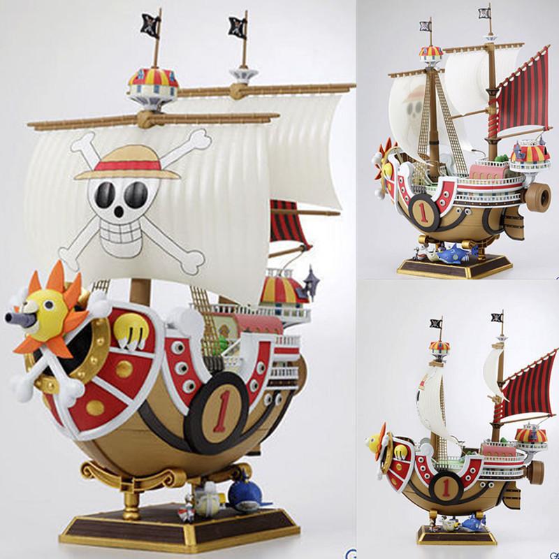 海贼/航海王2年后海贼船万里阳光号桑尼号万里梅丽号拼装模型手办