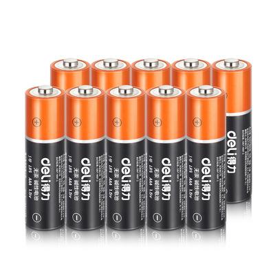 Deli/得力 18503电池5号碱性干电池环保电池蓄电池玩具(4节/组)