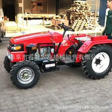 单缸四轮拖拉机  农用小型四轮旋耕机 爬坡四驱低矮果园管理机