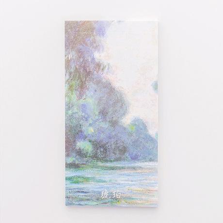 Sơn dầu vẽ tay sáng tạo pad ghi chú dài có thể xé sổ ghi chú giấy từ với kế hoạch ghi chú cuốn sách này