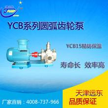 YCB15/0.6不銹鋼圓弧齒輪泵 精鑄保溫齒輪泵 耐腐蝕泵