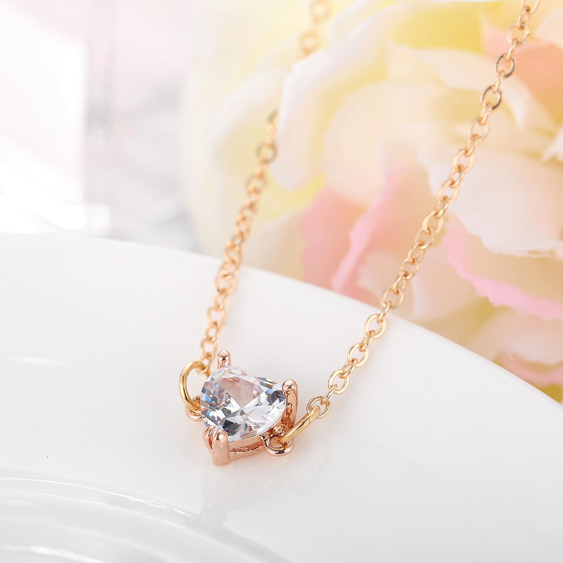 Alloy Fashion Geometric necklace  Real Platinum GDY0306 NHPJ0149RealPlatinumGDY0306
