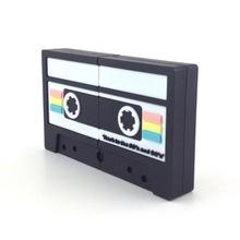 塑料复古录音带U盘 磁带u盘批发定制印LOGO 唱片塑料磁带音乐优盘