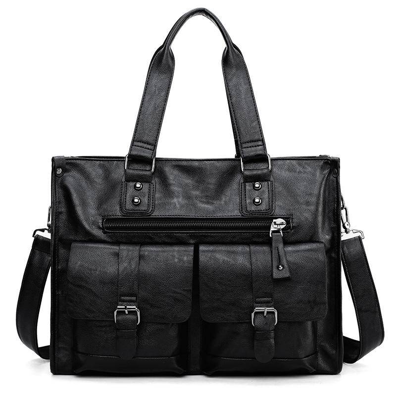 批发韩版旅行包男士商务手提包大包男士横版大容量行李包厂家批发