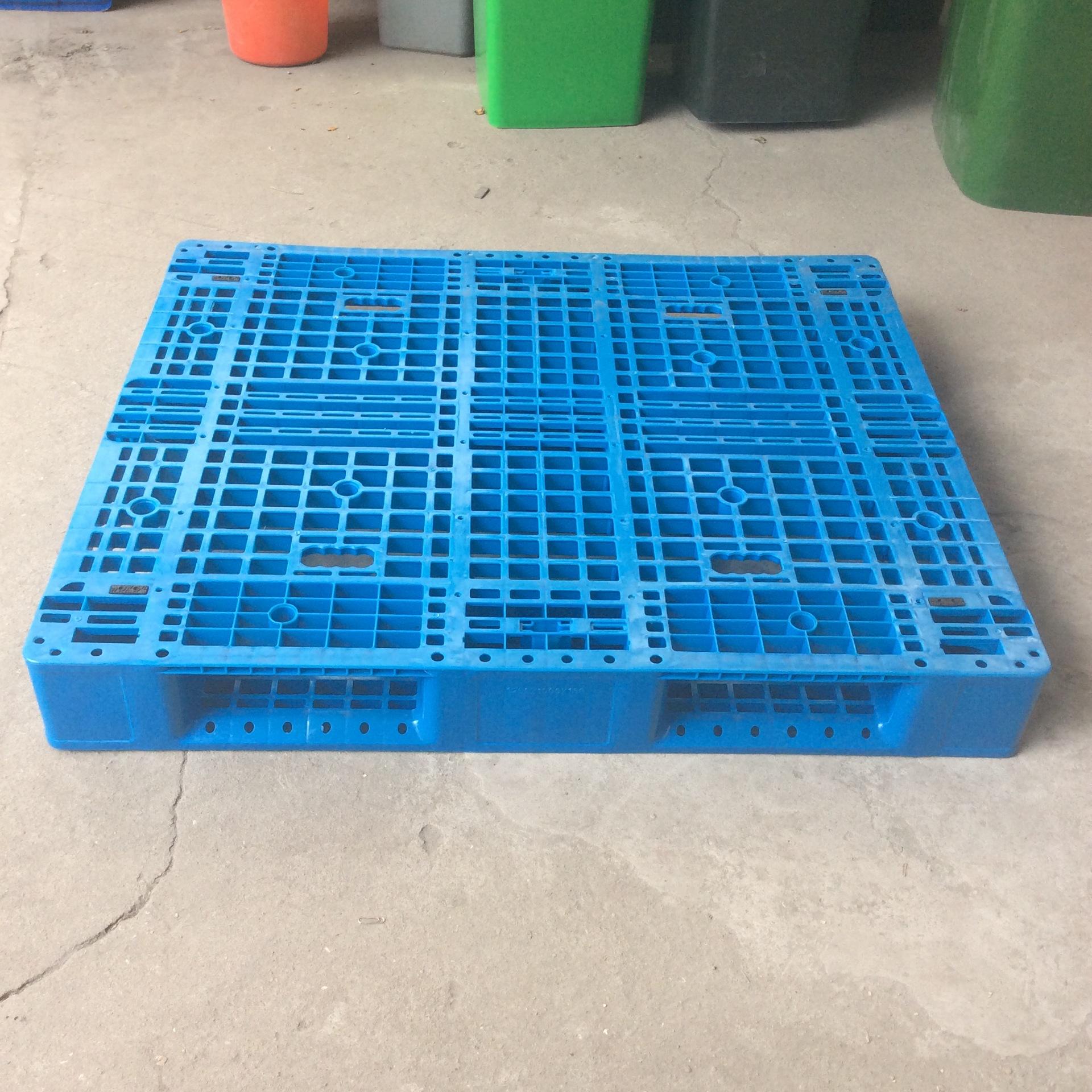 1210网格川字塑料叉车托盘1110塑料卡板南京栈板