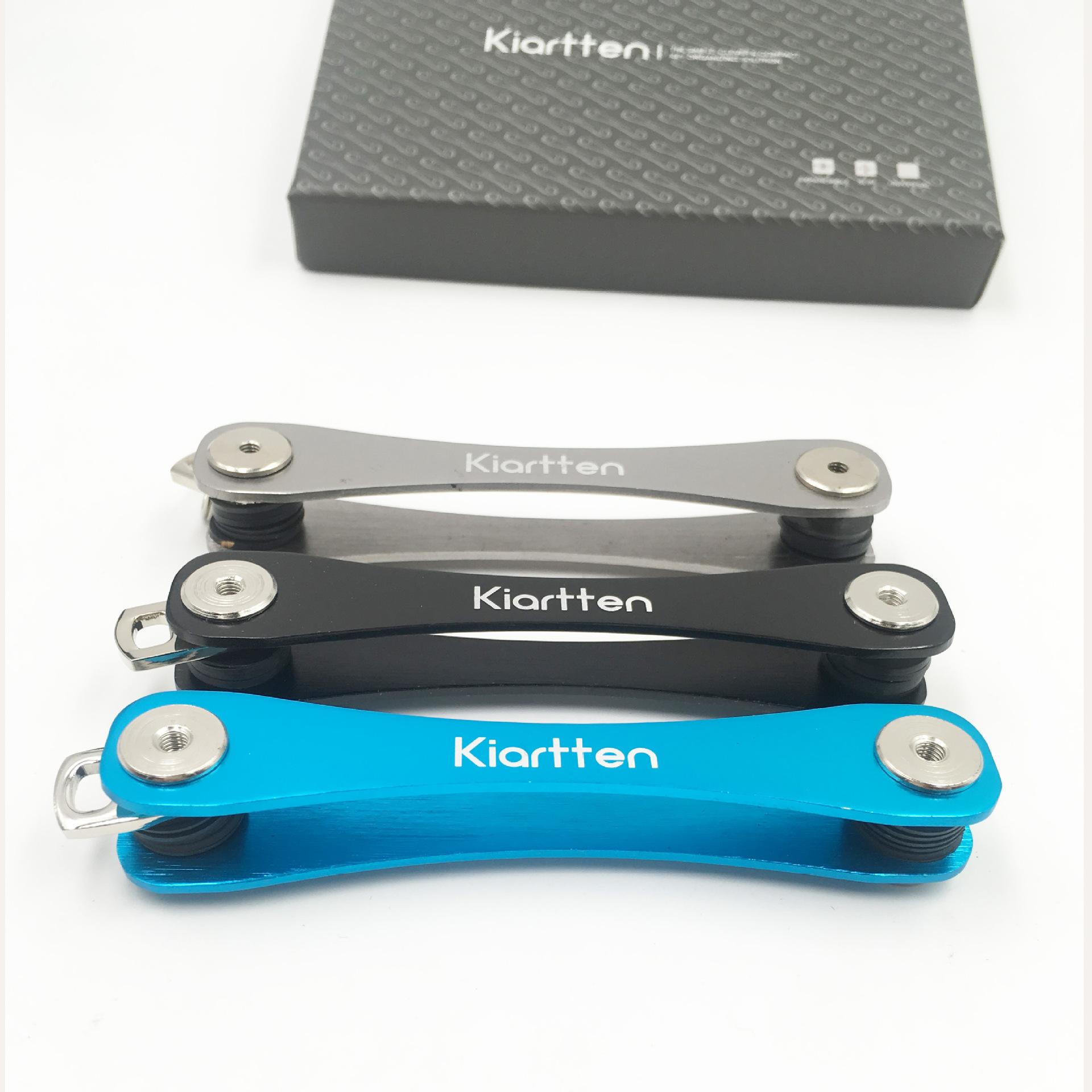 亚马逊新品推荐航空铝便捷式钥匙夹收纳器套装 现货keysmart礼品