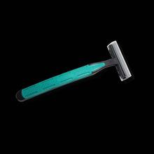 壹圆旅游用品一次性剃须刀 手动刮胡刀宾馆?#39057;?#29992;品批发两层刀片