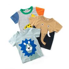 2018夏季童裝新品兒童短袖T恤 男童半袖寶寶汗衫阿里巴巴批發網