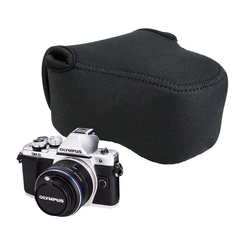 佳能相机三角包潜水料单反相机保护套影器材保护套数码相机收纳包